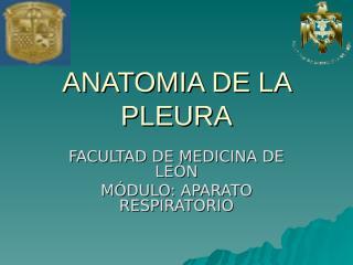 ANATOMIA DE LA PLEURA.ppt