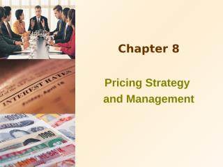 price strastegyChapter_08.ppt